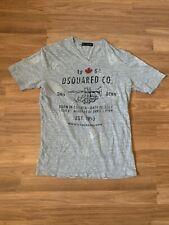 D Squared 2 Dan Dean Trumpet Gray Graphic T Shirt Size Large V neck