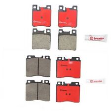 Mercedes 500SEC 600SEL 400SE 400SEL Front And Rear Disc Brake Pads Kit Brembo