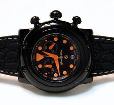 Glam Rock GR61114 Miami Beach Women's Orange Black Chronograph Swiss Made Watch