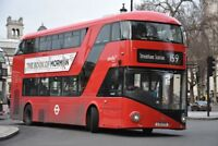 LT771 LTZ 1771 ABELLIO NEW ROUTEMASTER 30TH DEC 2017 6x4 London Bus Photo B