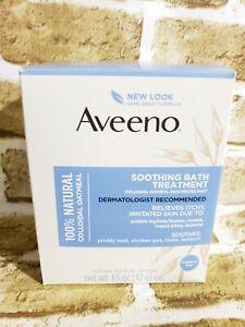 Aveeno Soothing Bath Treatment, 8 Count, net wt. 1.5oz.