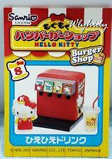 Miniatures Sanrio Hello Kitty Burger Shop  set #8 , 1 pc Only  - Re-ment  ==