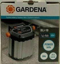 GARDENA System Akku BLi-18: Zubehör für viele GARDENA (9839-20