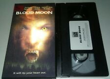 Blood Moon Vhs Horror in Great Condition Plays Perfectly Werewolf Hologram Cover