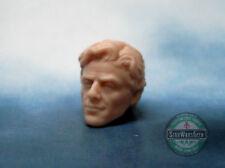 """MH342 Custom Cast Male head for use with 3.75"""" GI Joe Star Wars Marvel figures"""