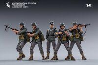 (Pre-Order@5zeroToys) JoyToy 1/18 Scale WWII Germany Mountain Division Set of 5