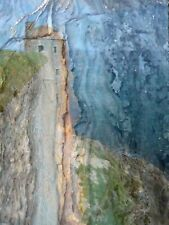 """MONTAGE PHOTO NUMERIQUE de HZEN tirage sur alu Dibond """"Vue sur mer"""", 30x40 cm"""