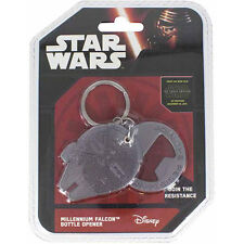 Star Wars - Millennium Falcon Cast Metal Bottle Opener - New & Official Disney