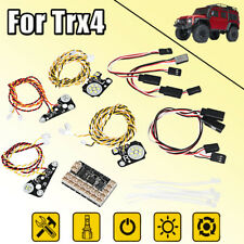 LED Front Rear lights + IC Lamp Group Headlight Lamp Set For TRAXXAS Trx4 RC CAR