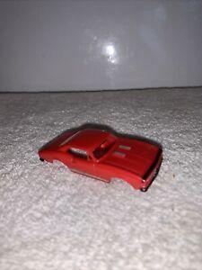 Vintage 1960s Aurora Thunderjet Red Camaro No. 1388 Slot Car BODY ONLY NEAR MINT
