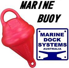 RED POLY UV RESISTANT MOORING MARINE BUOY TIE YOUR BOAT JETSKI YATCH TINNY NEW