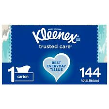 Kleenex Trusted Care 144 tissues 2-pack