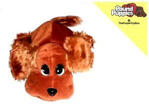 """2000 Jakks Pacific Pound Puppies / Purries ~ PUPPY ~ 7"""" Plush Beanie Toy."""