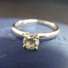Kay Leo 0.50 ct I-SI1 Round Diamond 14K White Gold Solitaire Ring Size 6.75