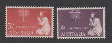 AUSTRALIA 1957 CHRISTMAS SET (UM MINT STAMPS)
