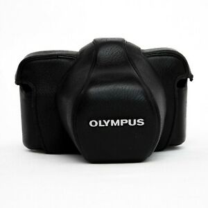 Olympus Original Black Case for OM-1 OM-2 OM-3 OM-4 TI 35mm w/ Screw Clean Good