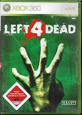 Left 4 Dead (Microsoft Xbox 360, 2008, DVD-Box)