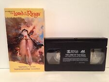 J.R.R. Tolkien's The Lord Of The Rings VHS Tape
