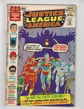 Justice League of America #97/Bronze Age DC Comic Book/Origin of JLA/VG-FN