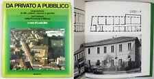 Bisi PRIVATO PUBBLICO Acquisizione Ville Palazzi Cascine Giardini Milano 1980