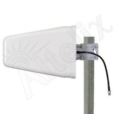 Wideband 10dBi Directional Outdoor Log Periodic Yagi Antenna 75 Ohm 2G 3G 4G LTE