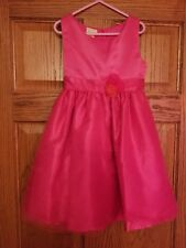 Shimmering Pink Dress Girl Size 6 6X Easter Holiday Pageant Party Used