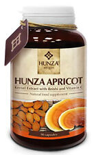 HUNZA Apricot kernels extract with REISHI and Vitamin C