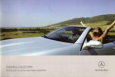 Mercedes-Benz Personal Factory Collection 2005-06 UK Market Sales Brochure