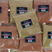 Wholesale Job Lot of 20x 500g Coarse Fishing Ground Bait 10 x 2 Flavours BRN RED