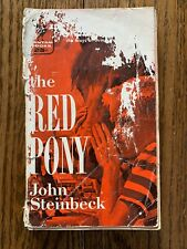 The Red Pony by John Steinbeck 1932 Bantam Edition 1955 Paperback