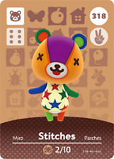 Amiibo Animal Crossing: New Horizons Stitches #318 NFC CARD (NO ARTWORK)