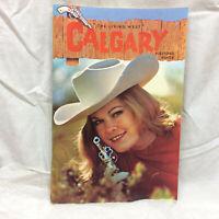 Vintage Calgary Visitors Guide Booklet Canada