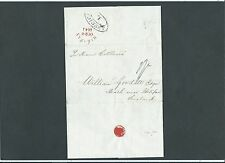 "Maritime Yorkshire 1841 Entire New York to HALIFAX Skeleton & ""AMERICA L"" oval"