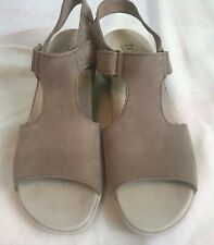 080f0da7bf2 Hotter Comfort Concept Macy leather wedges womens sandals shoes Size 9