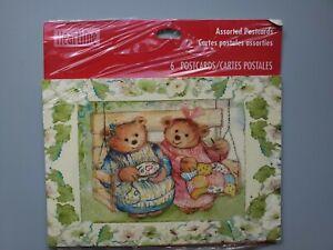 Vintage Unused Get well Cards \u2022 set of  2 \u2022 made in USA \u2022