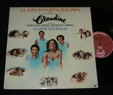 GLADYS KNIGHT & THE PIPS CURTIS MAYFIELD SOUL SOUNDTRACK LP CLAUDINE