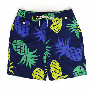 Polo Ralph Lauren Swimsuit - Navy w/ Pineapples