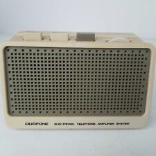 RadioShack Duofone Electronic Telephone Amplifier 43-278