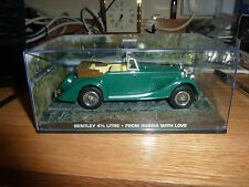 James Bond 007 Car Collection Bentley 4 1/4 Litre From Russia With Love