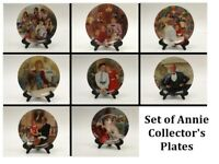 ANNIE Collector's Plates Series - Knowles - Set of 8