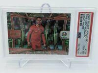2020 Panini Select UEFA EURO Cristiano Ronaldo Camo Prizm #/49 PSA 10 Gem POP 1