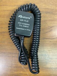 Aputure TTL Cable Off-Camera Flash Sync Cable Cord AP-TLC For Canon 3 Meters