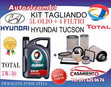 KIT TAGLIANDO HYUNDAI TUCSON 2.0 CRDI 100KW DAL 6/2015 IN POI + 5L TOTAL 5W30