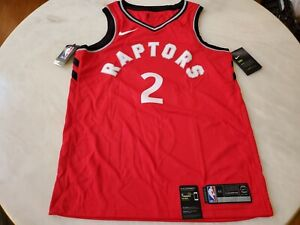 BNWT Kawhi Leonard Nike Toronto Raptors Red Swingman Jersey Size M/44