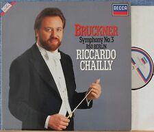 Chailly. Bruckner (Symphony 3). Decca 417 093 dig. NM