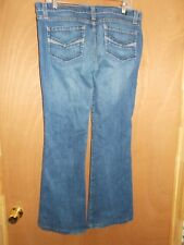 KASIL FLARED LEG WOMEN'S DENIM JEANS SIZE 32 INSEAM 33""