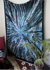 simple arbre tapisserie TAPISSERIE MURALE Inde BOHO HIPPIE maison art décoratif
