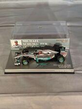 New listing Michael Schumacher Collection Nr. 43, Mercedes GP F1 Team,1:43 Minichamps