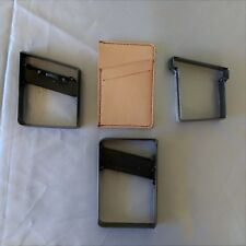 Wallet Card Holder Leather Clicker Die Brand New