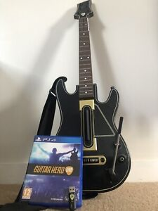 Guitar Hero Live PS4 Guitar/Dongle/Game
